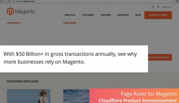 Improve security and speed for magento
