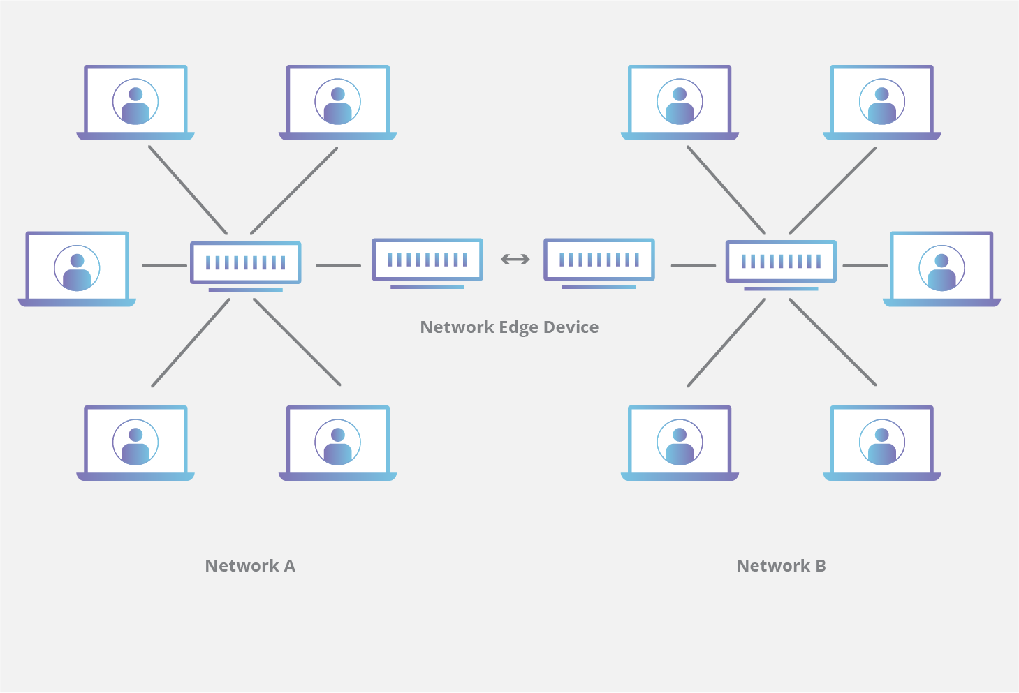 CDN edge network device diagram