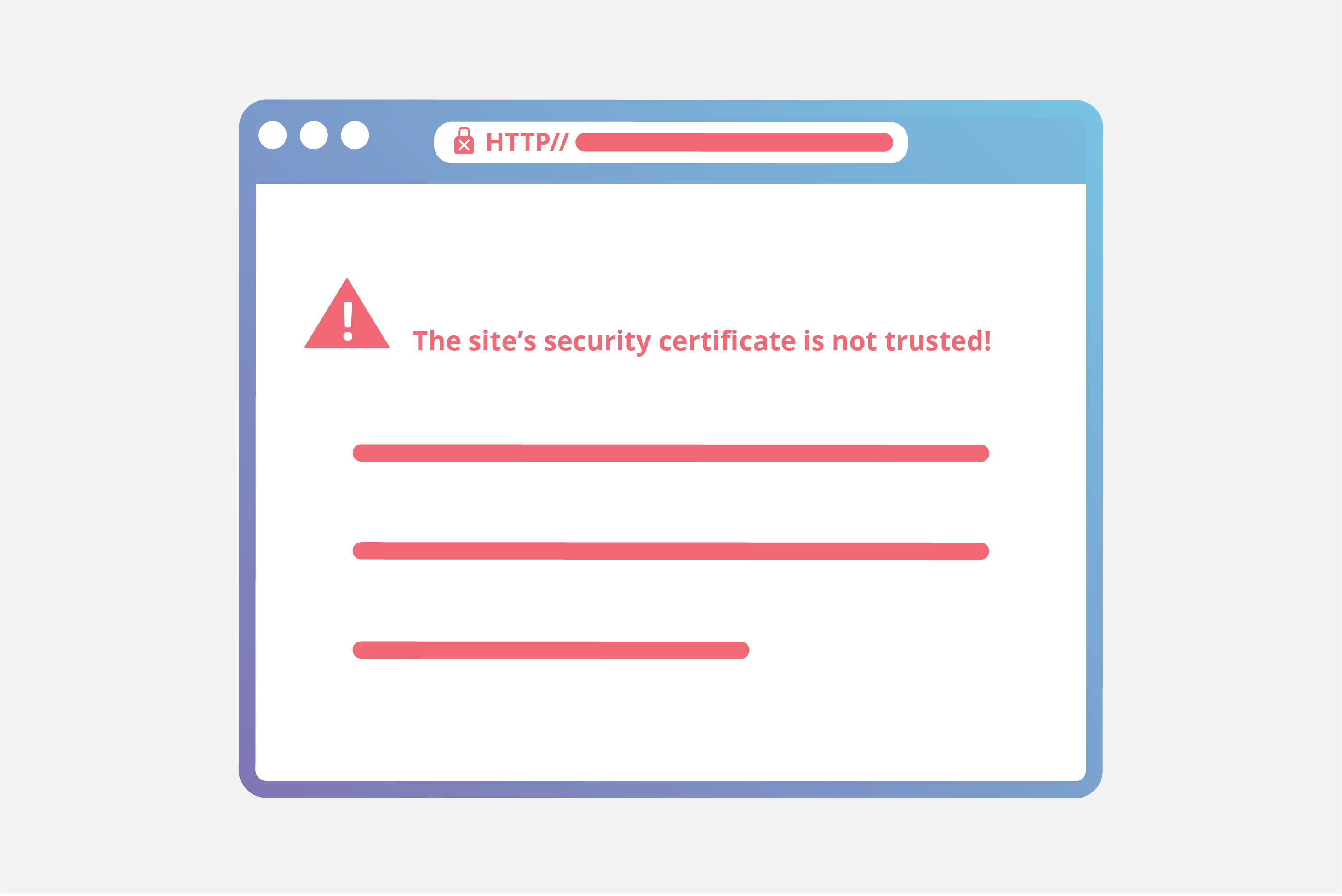 SSL/TLS error graphic