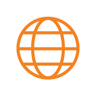 icon global orange