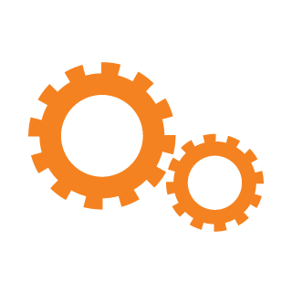 icon configuration orange
