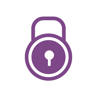 icon security purple