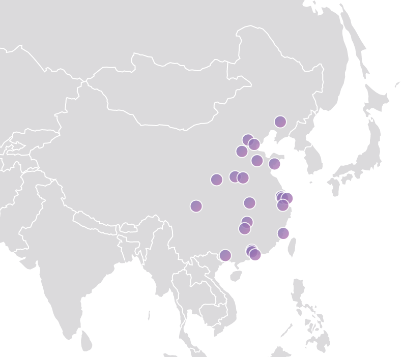 china network map