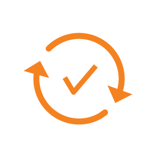 icon validator orange