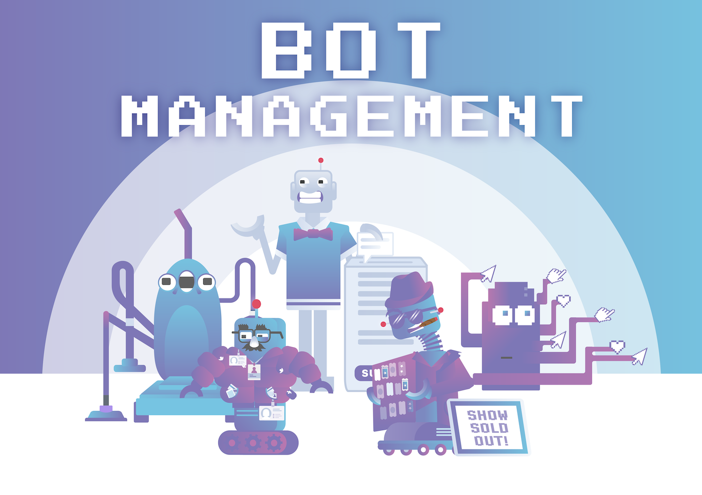 Bot management - group of bots