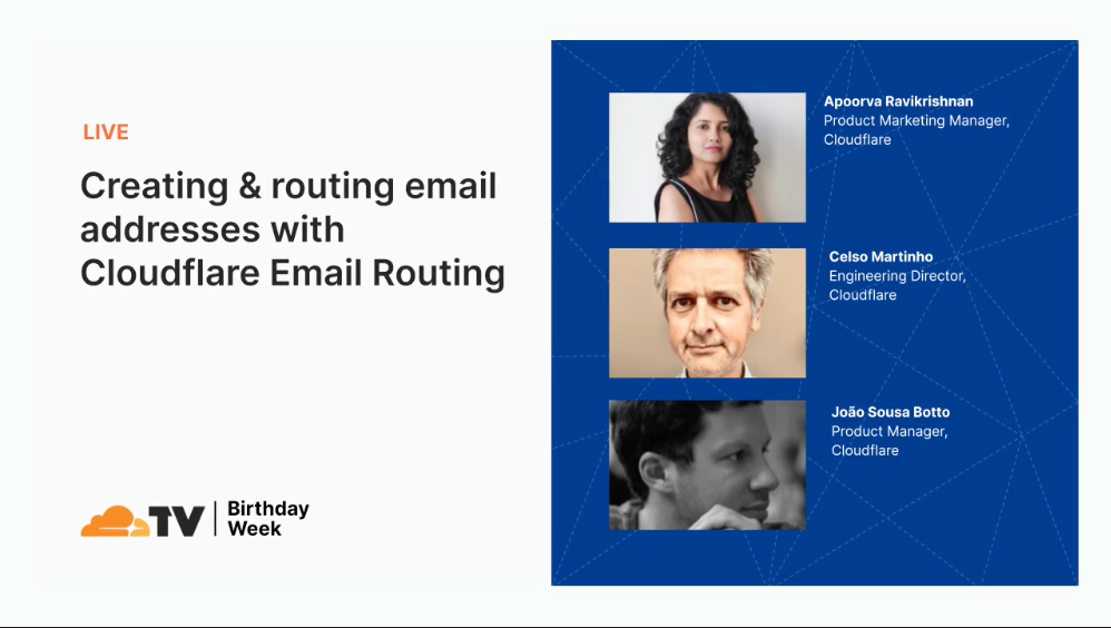 CFTV Video Header - Email Routing